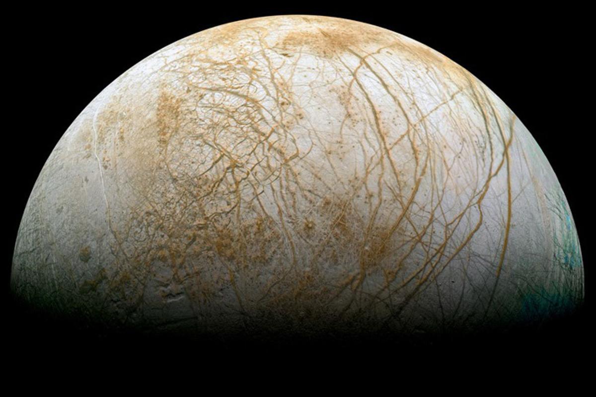 Europa (Image: NASA/JPL/Ted Stryk)
