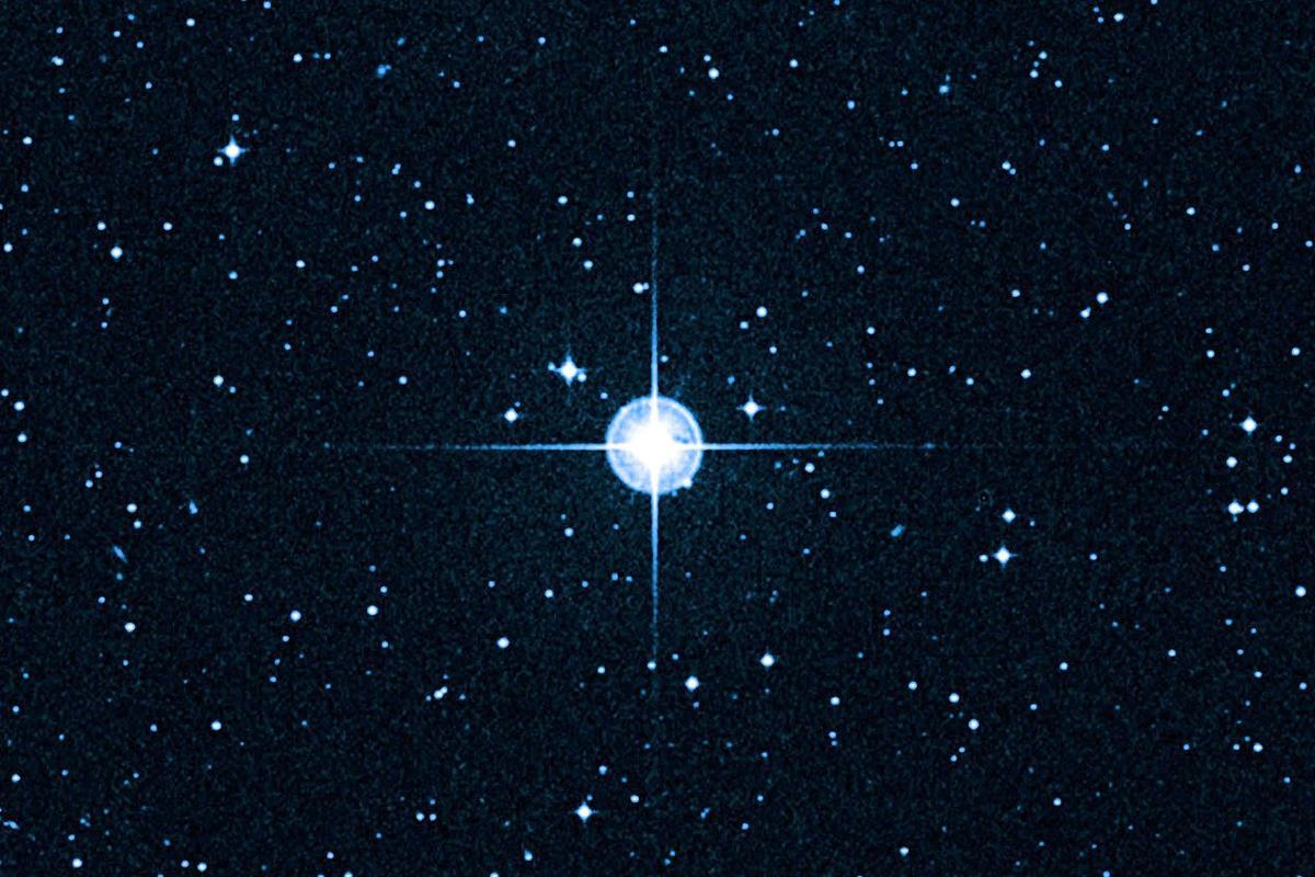 HD 140283 - the Methuselah star (Photo: Hubble via W.M. Keck Observatory)
