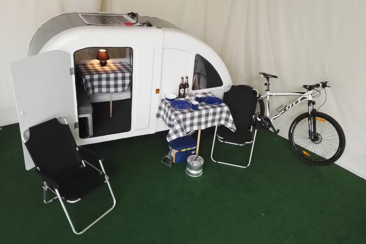 The Wide Path Camper will set you back from €3,500 (roughly US$3,900)