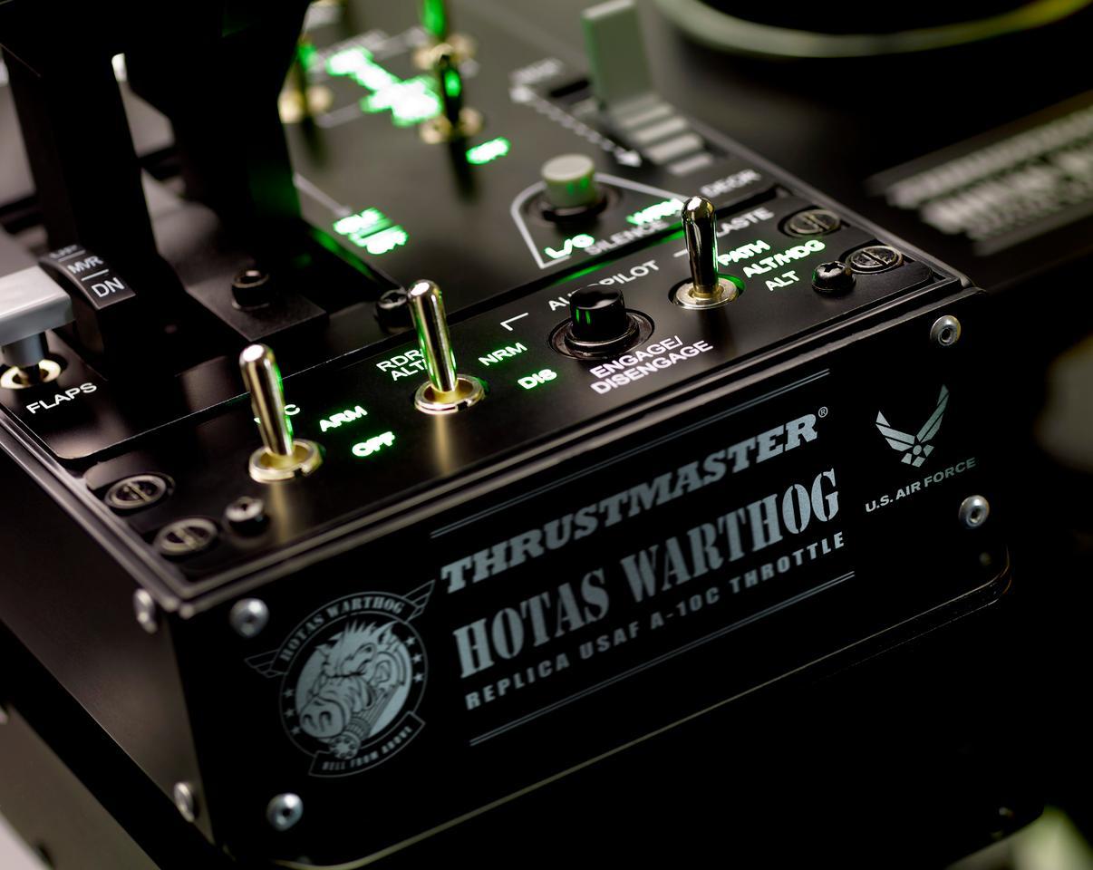 HOTAS WARTHOG control panel