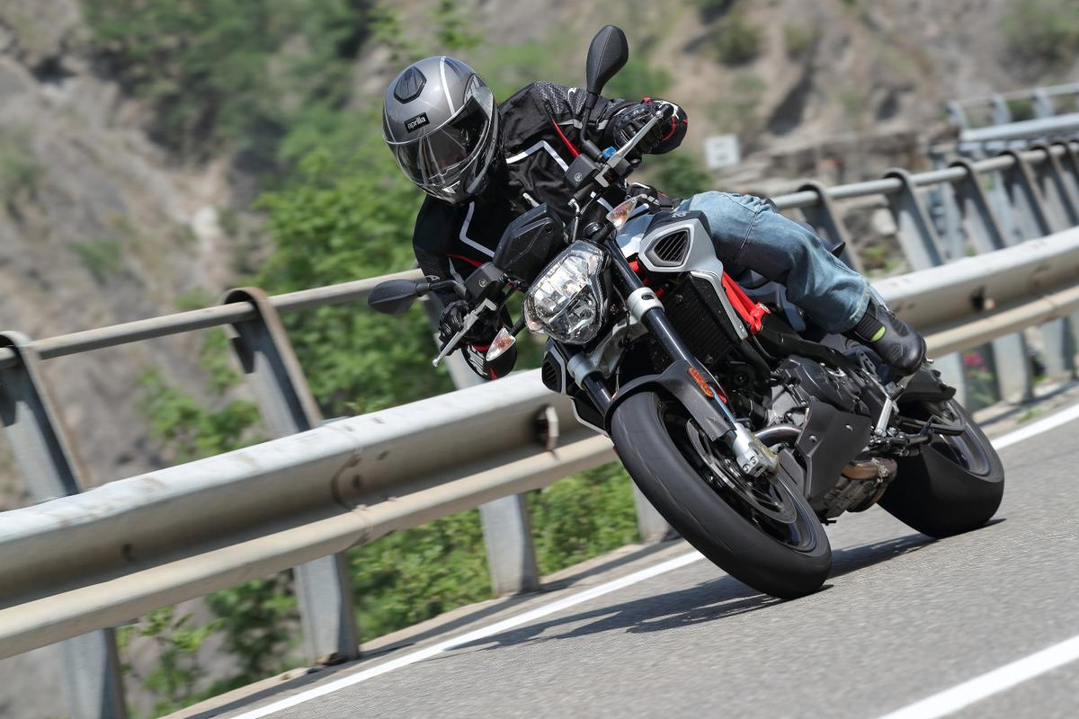 The new Aprilia Shiver has a bigger engine and improved overall handling