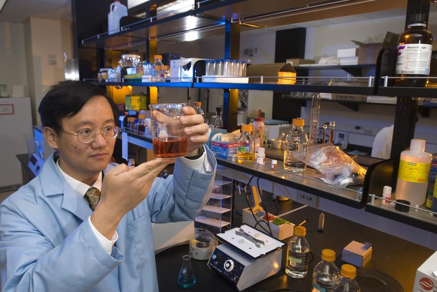 Virginia Tech associate professor Percival Zhang is leading the research on the bioprocess