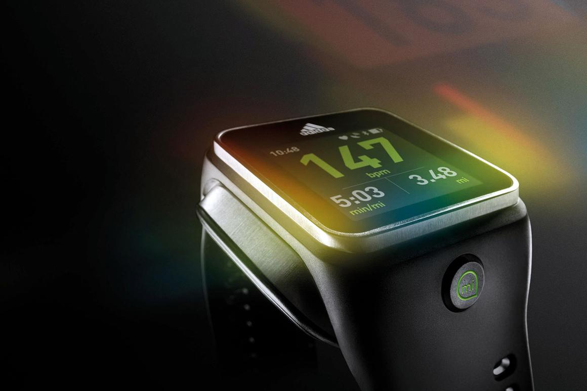 Adidas just announced the miCoach Smart Run, a touchscreen smartwatch with a heart monitor, GPS tracking, and media player capabilities