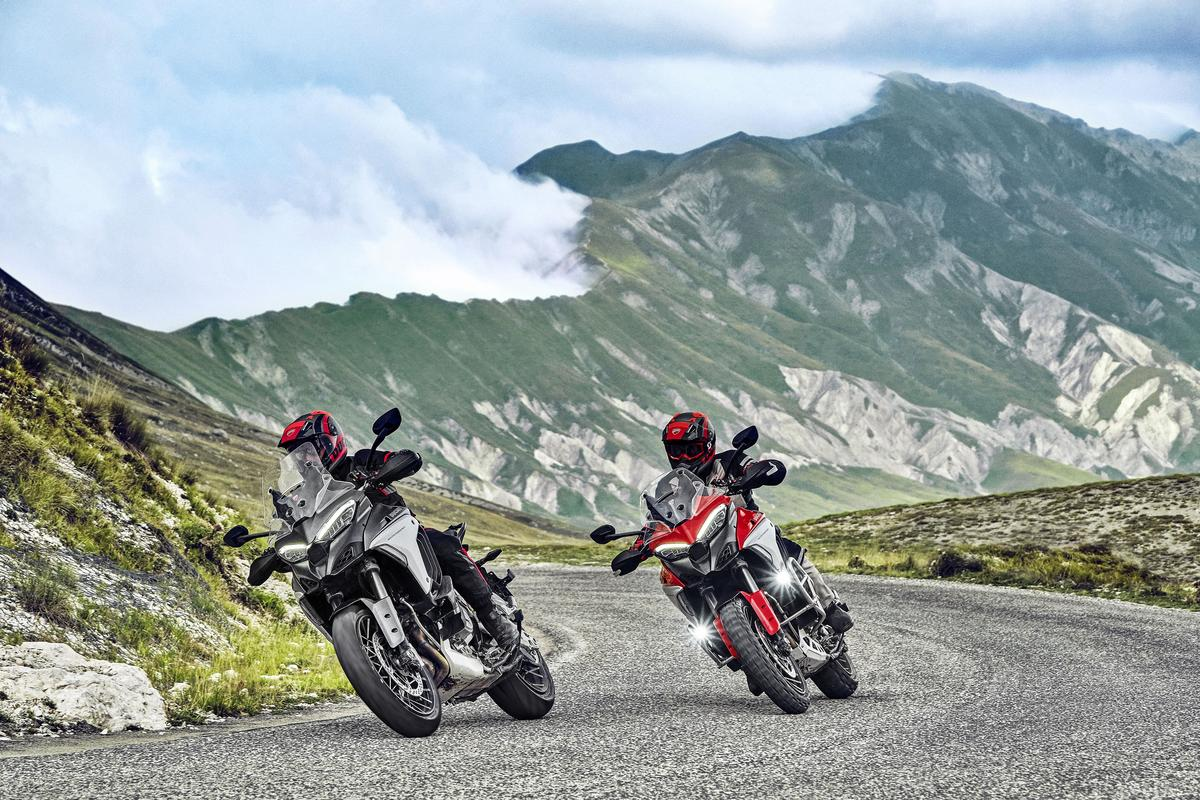 The 2021 Ducati Multistrada V4