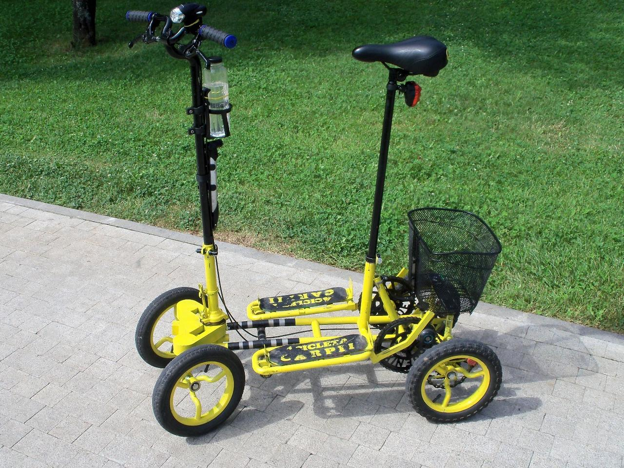 Carpii 4ciclet: an unique way to get around