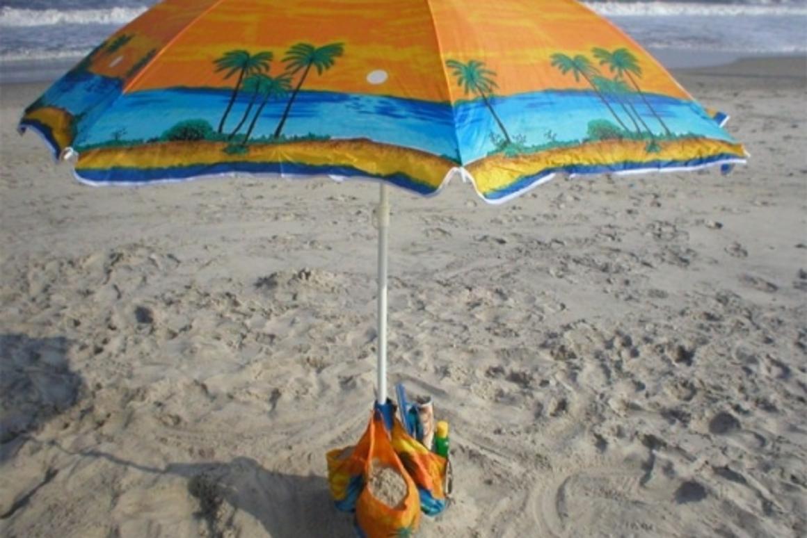 Beach Pockets umbrella