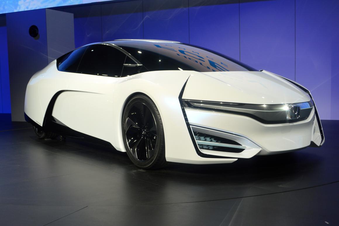 The FCEV Concept at the LA Auto Show