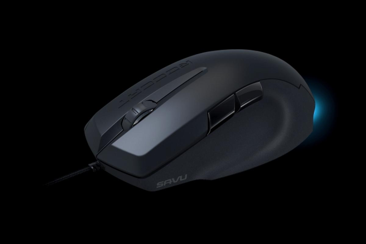 ROCCAT's new Savu gaming mouse brings an achievement system and a customizable light bar to an exceptionally precise accessory