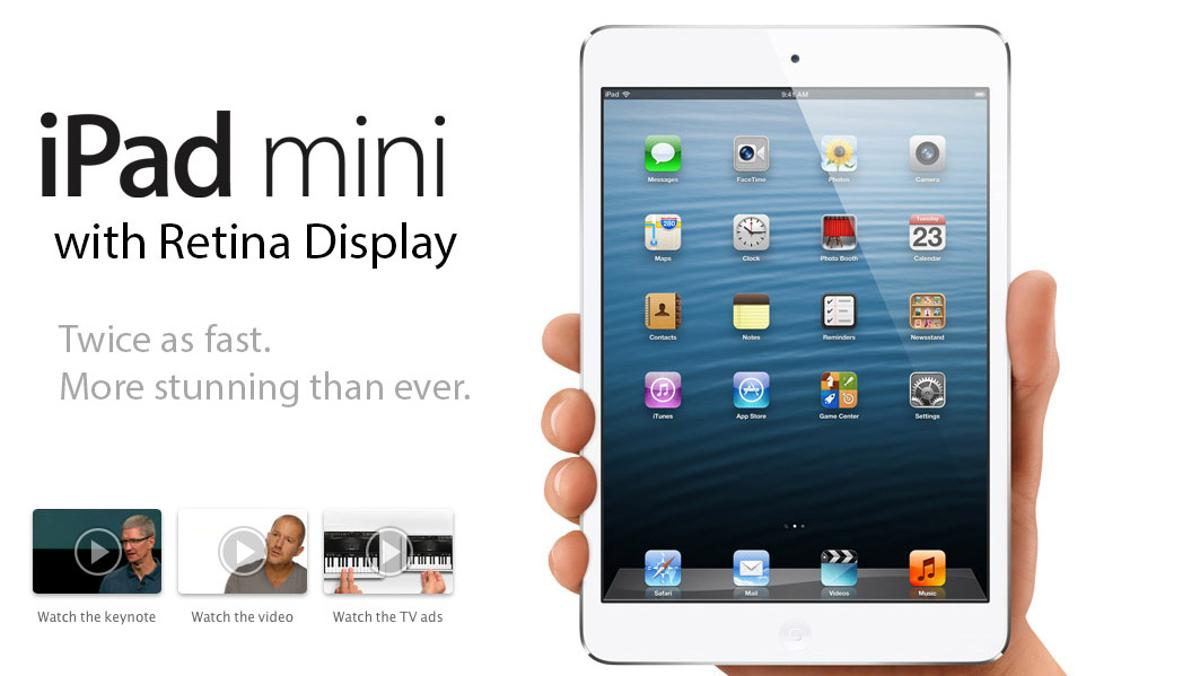 A report from the far East suggests Apple has pushed back the release of the second-generation iPad mini with Retina Display until early 2014, rather than the 2013 holiday release many expected.