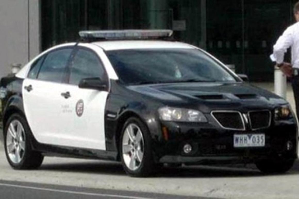 Calling all cars – futuristic cop cruiser takes to LA streets