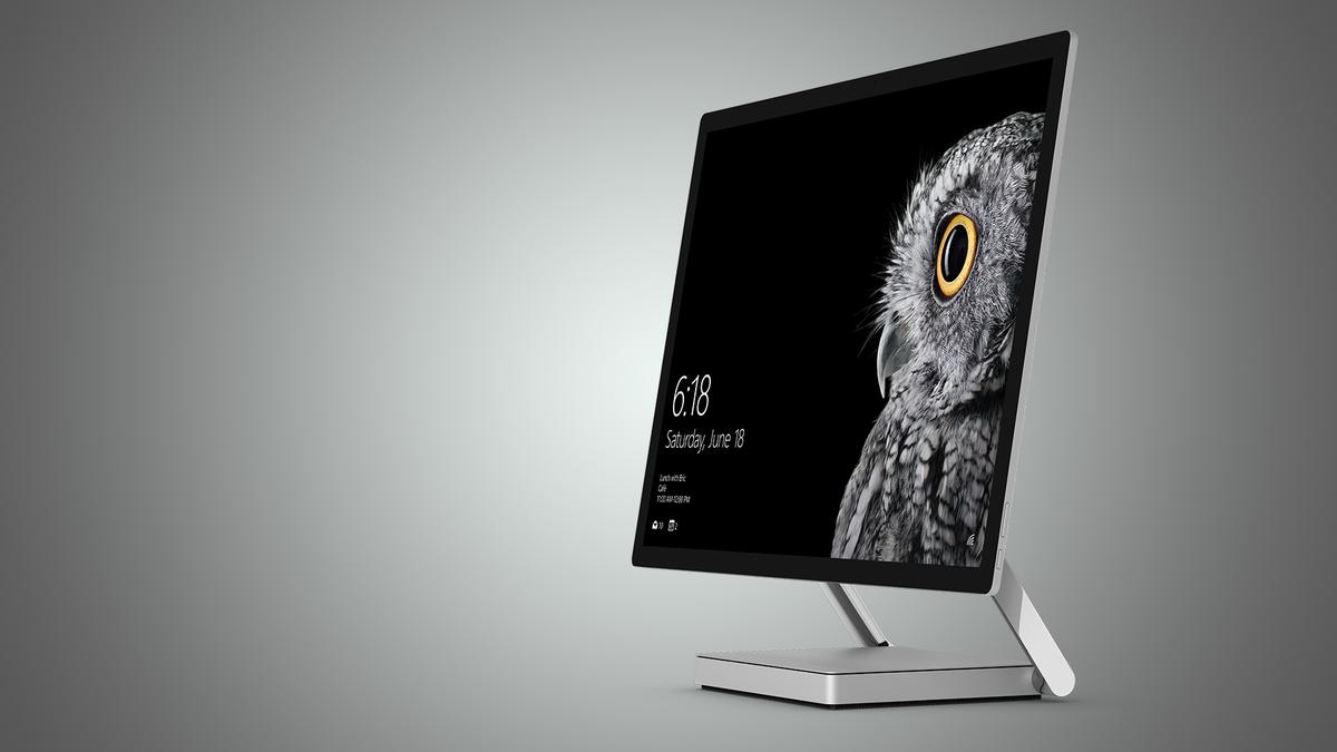 The highlight of today's announcements was Surface Studio, an all-in-one PC that doubles as a digital drafting table of sorts