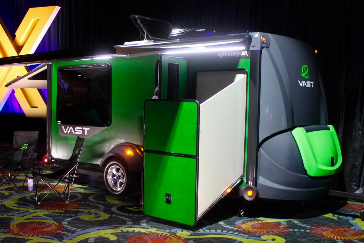 SylvanSport reveals its first hard-sided camping trailer