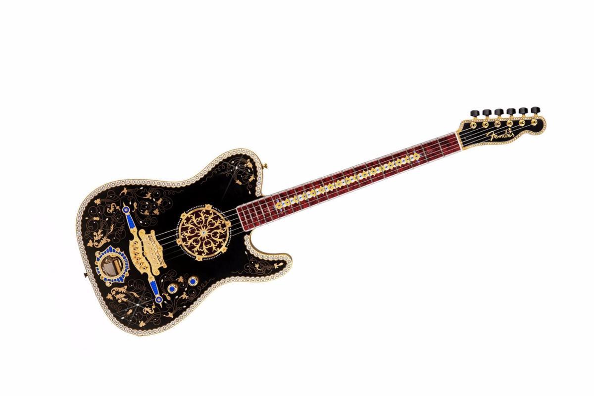 The Music Repeater Telecaster by Fender Master Builder Yuriy Shishkov