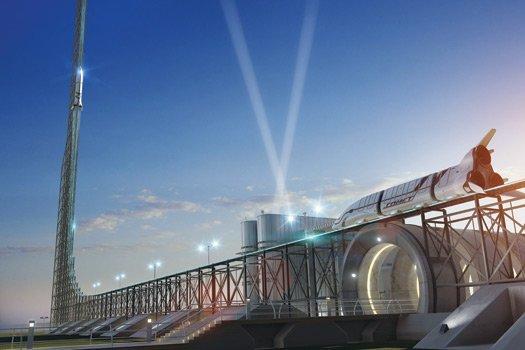 Zero Gravity Roller Coaster is inspired by NASA's astronaut training aircraft the KC-135 (Image: Nick Kaloterakis)