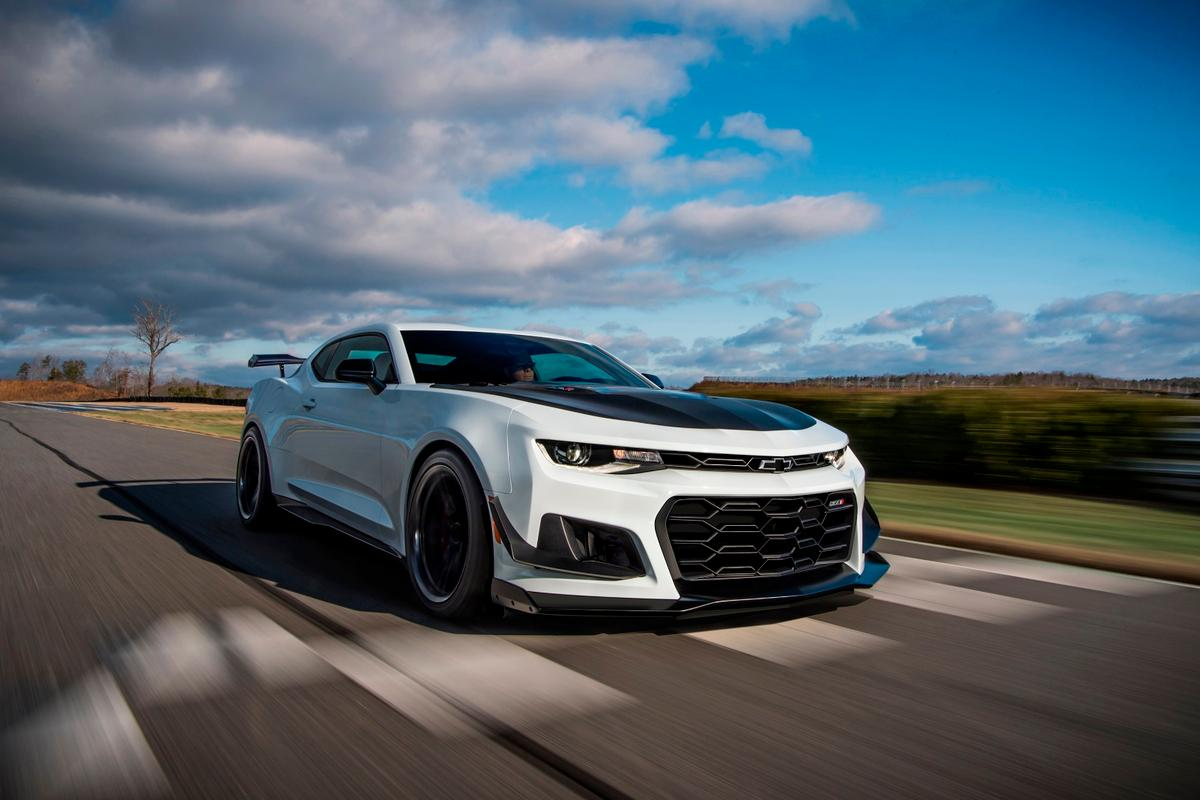The Chevrolet Camaro ZL1 1LE