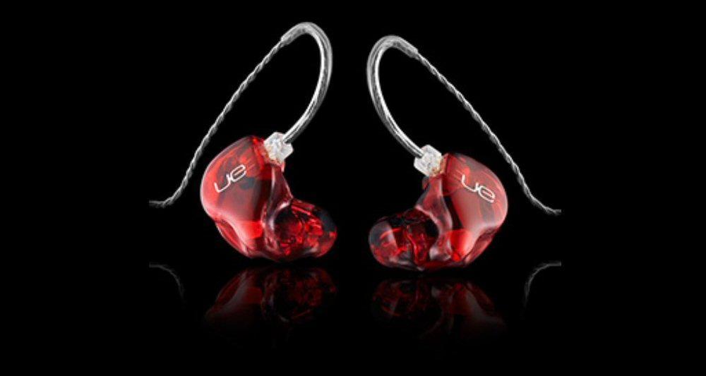 The six driver per ear UE 18 Pro in-ear monitors from Ultimate Ears