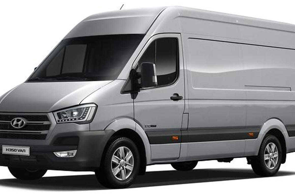 Hyundai is staking a claim for a slice of Europe's light commercial vehicle market with its H350