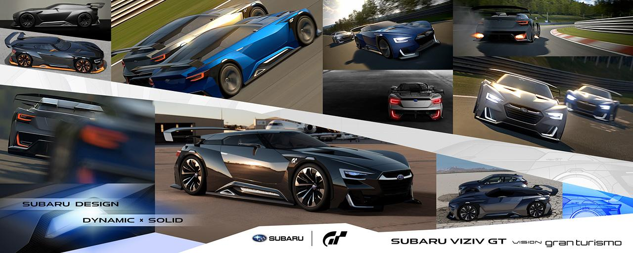 Subaru presents the VIZIV GT