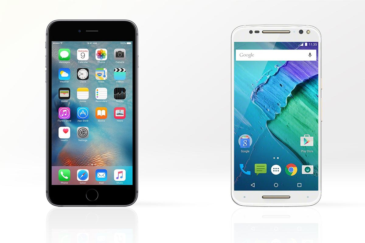 Apple's iPhone 6s Plus takes on the Motorola Moto X Style (or Pure Edition in the US) in all the categories that matter.