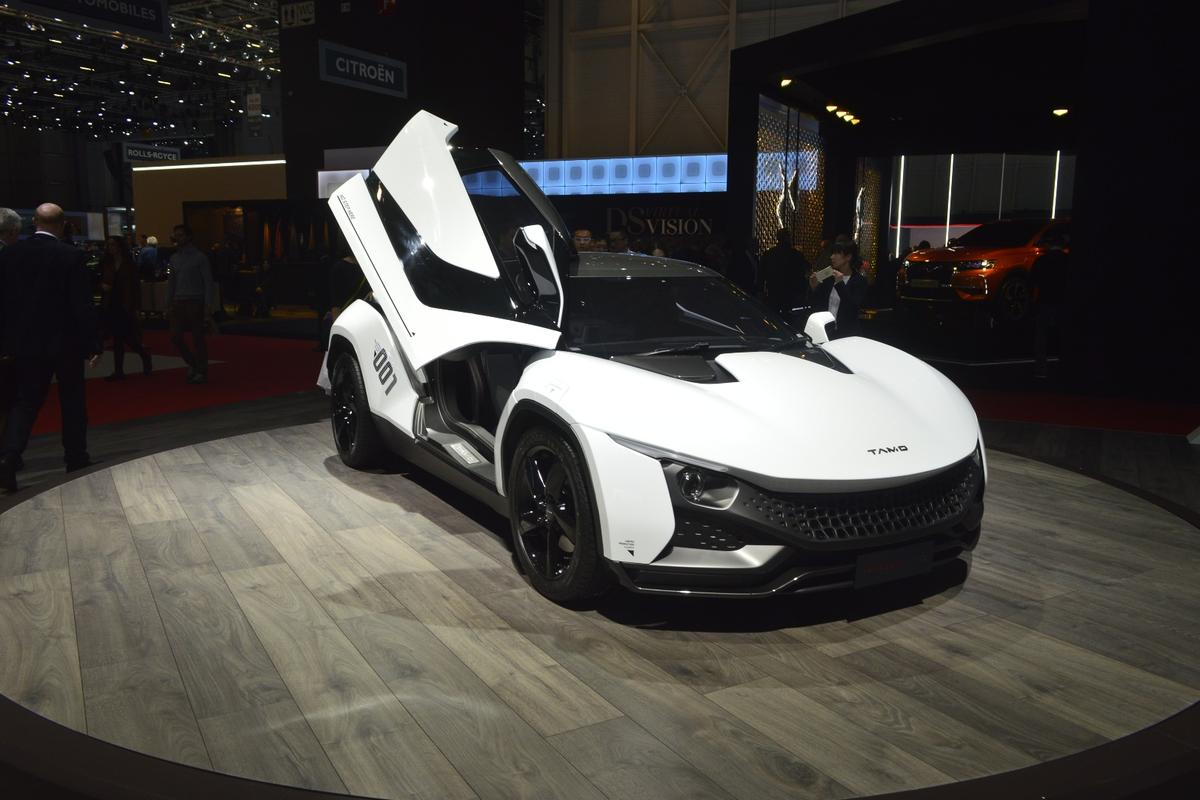 The TAMO Racemo launched at the Geneva Motor Show