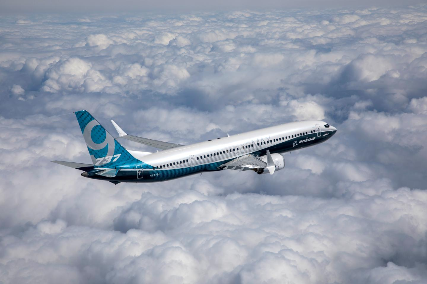 The 737 MAX 9 made its maiden flight in April and is now on its way to Paris