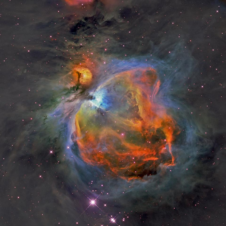 The Orion Nebula in visible light (Image: Hubble Space Telescope/NASA)