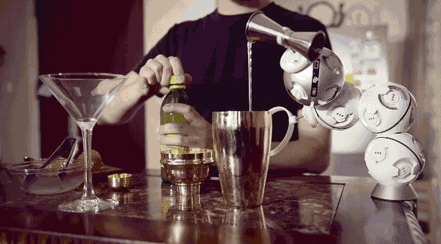 Why not build your own robo-bartender?