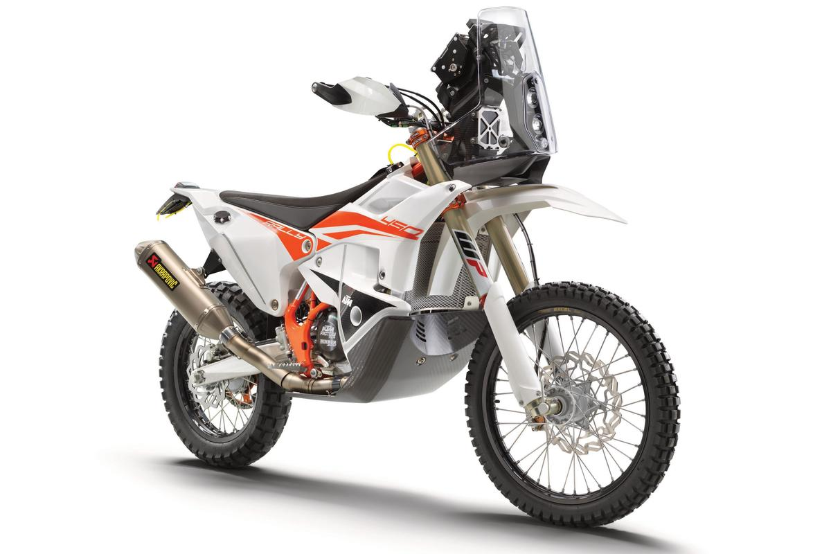 The KTM 450 Rally Replica 2021 is the closest thing you can buy to a Dakar bike off the shelf