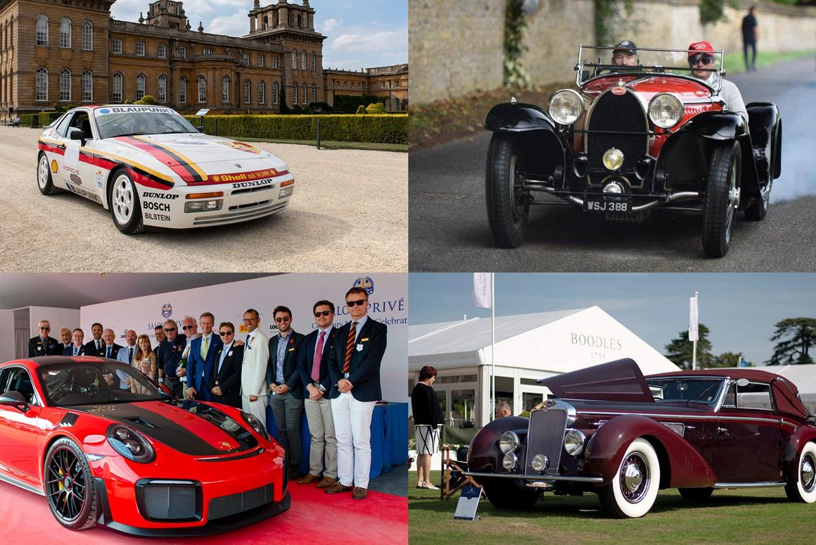 The major winners at this year's Salon Prive Concours events, the Chubb Insurance Concours d'Elegance and 2018 Concours Masters Celebration of 70 Years of Porsche