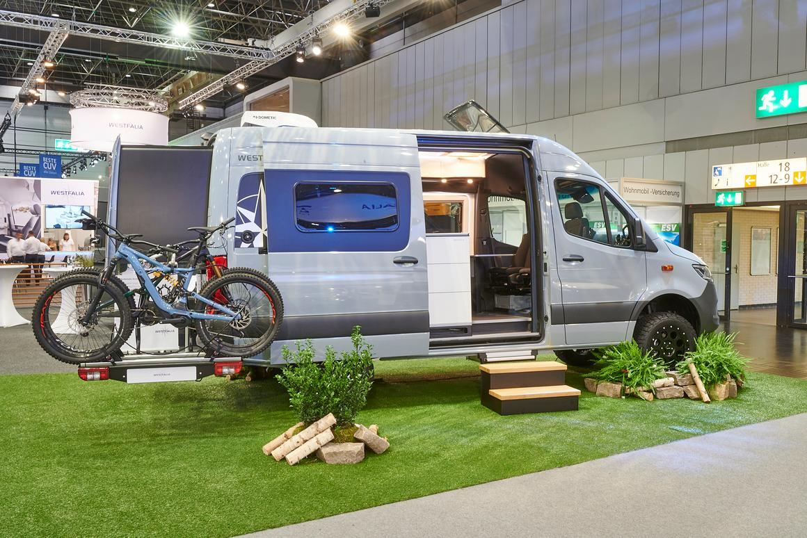 Westfalia James Cook Classic off-road edition on show at the 2019 Caravan Salon