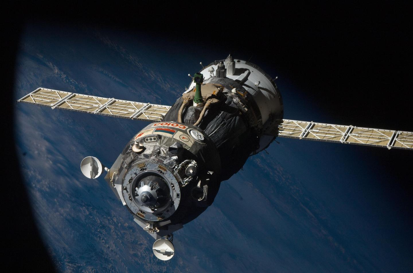 NASA's dependence on the Russian Soyuz spacecraft (pictured) to send astronauts to the ISS will cause problems after NASA cut ties with Russia