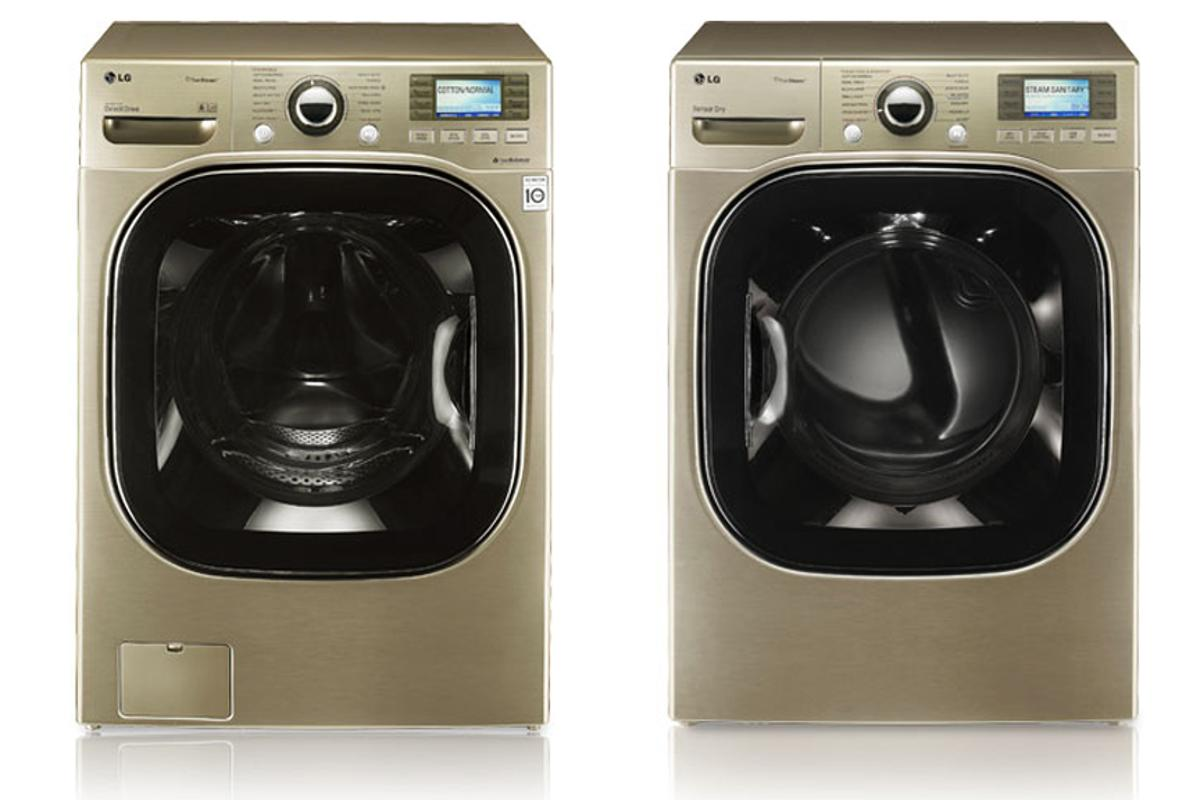 """Tell me where it hurts - LG's washers and dryers can """"talk"""" to technicians over the phone"""