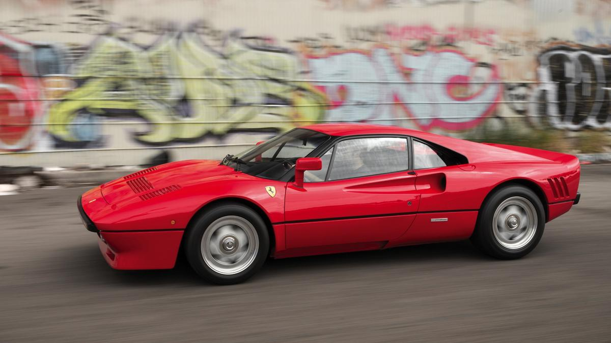 Lot 124 was a 1985 Ferrari 288 GTO which was expected to sell for between $2,400,000 and $2,800,000. It sold for $2,420,000, just short of the world record price for the model of $2,750,000