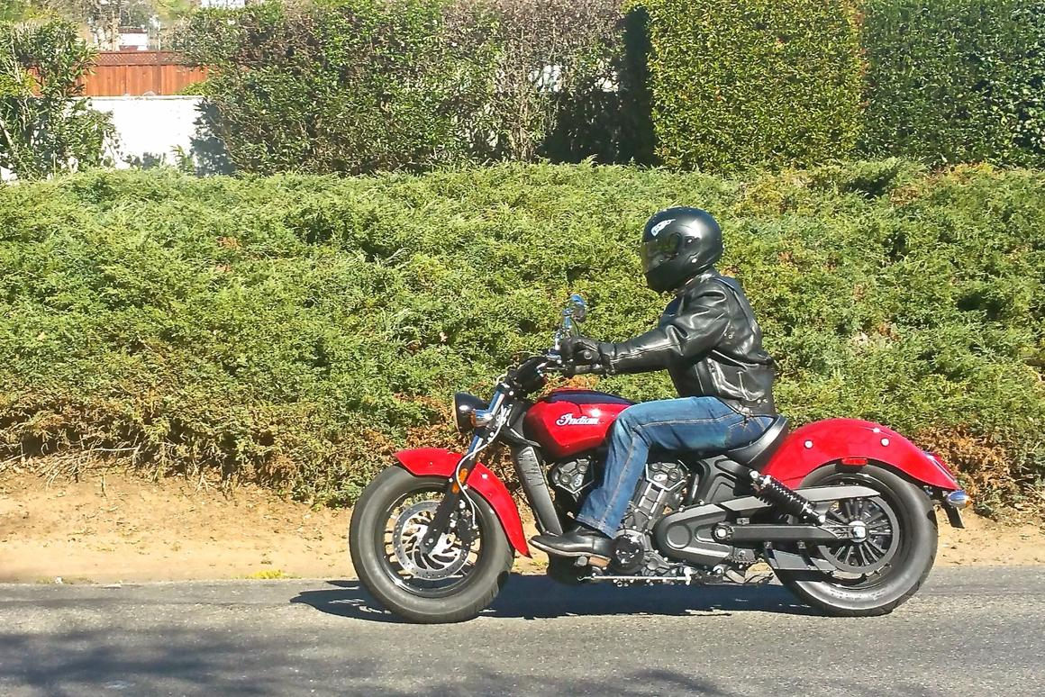 The Indian Scout Sixty hits the road