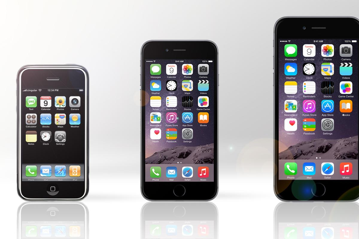 Gizmag takes a look back at the original iPhone, to see how it compared to today's models