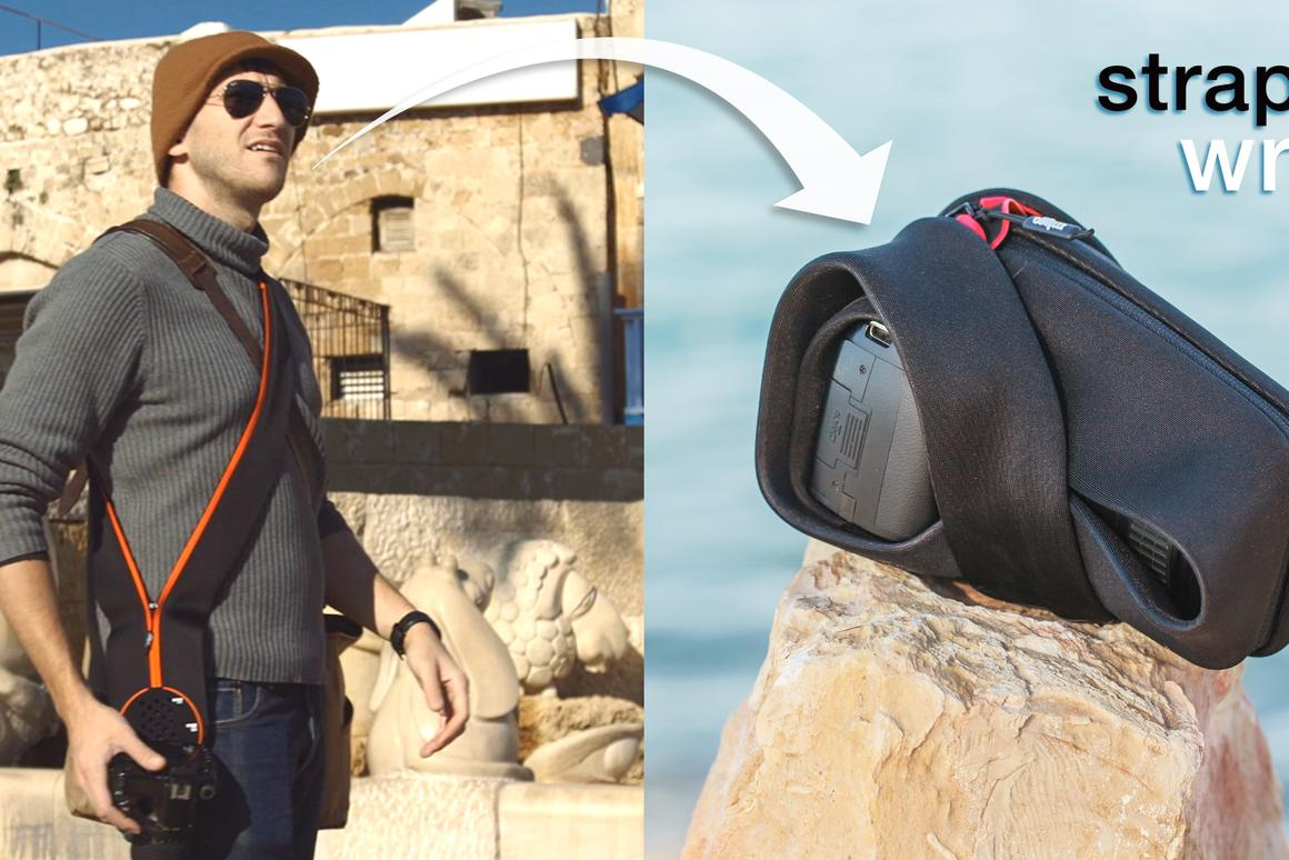Miggo camera straps and grips can also be used as a protective cover