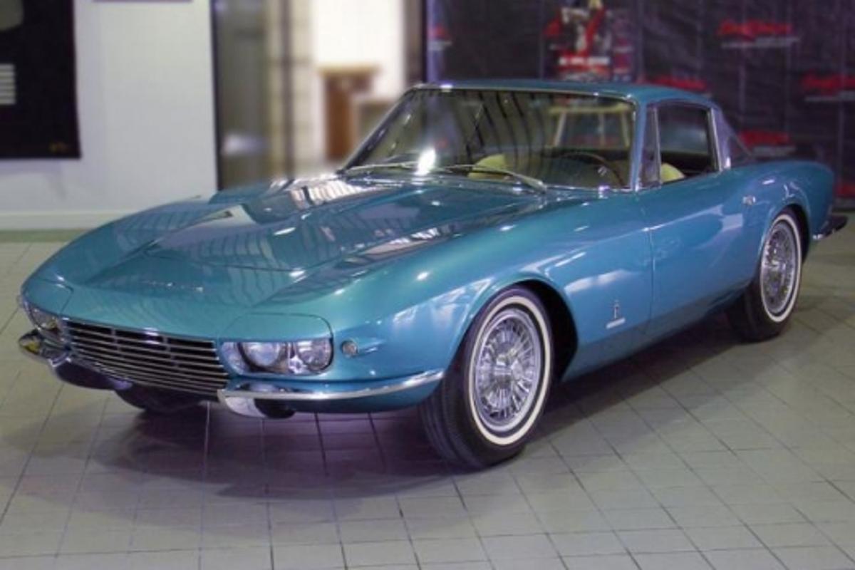1963 Corvette 'Rondine' Concept