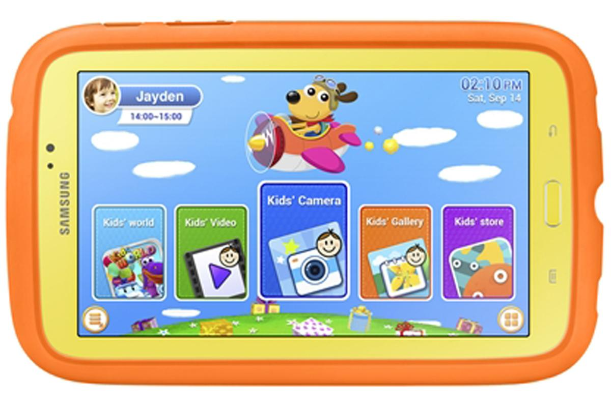 The Samsung Galaxy Tab 3 Kids is a child-friendly Android tablet