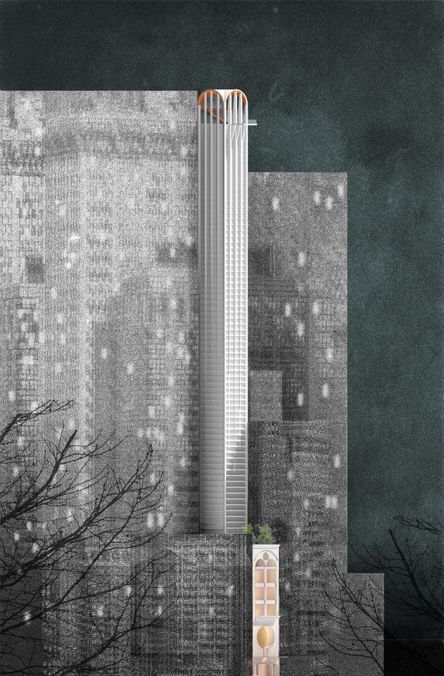 Pencil Tower Hotel은 최근 시드니시 디자인 우수 경쟁에서 우승했으며 Tricon Management Group에서 개발 중입니다.
