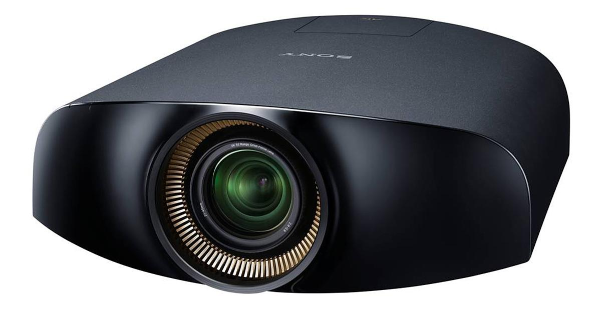 The Sony VPL-VW1000ES is the world's first 4K home cinema projector
