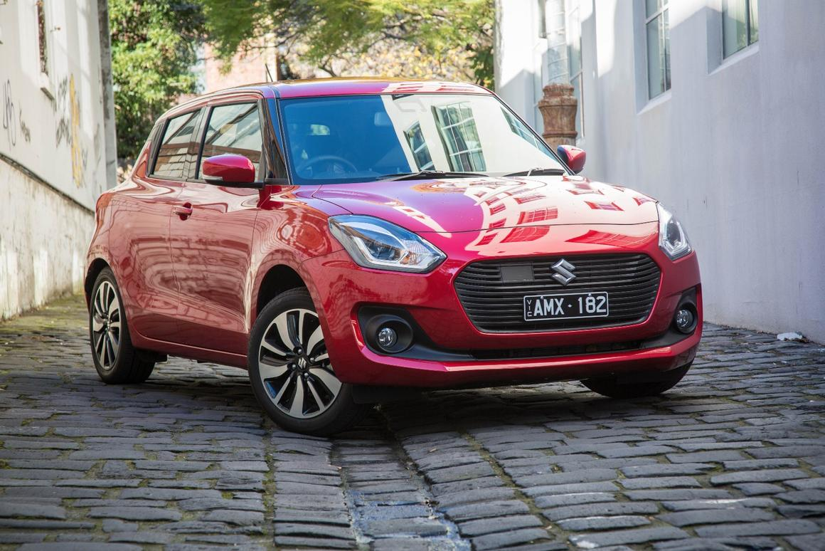 The new Swift GLXTurbo is at home in the city