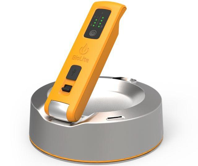 The KettleCharge works with BioLite's CampStove and other camping stoves