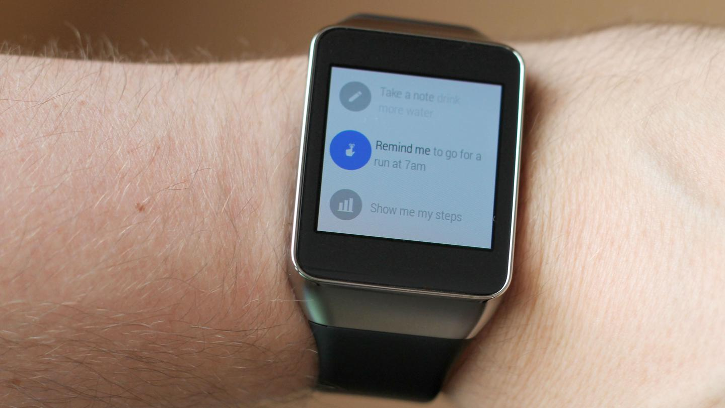 Some of the things you can ask Android Wear to do