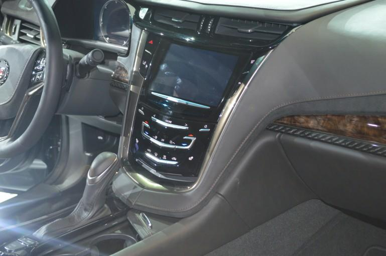 The Cadillac ELR comes standard with a CUE infotainment system built around an 8-in touchscreen