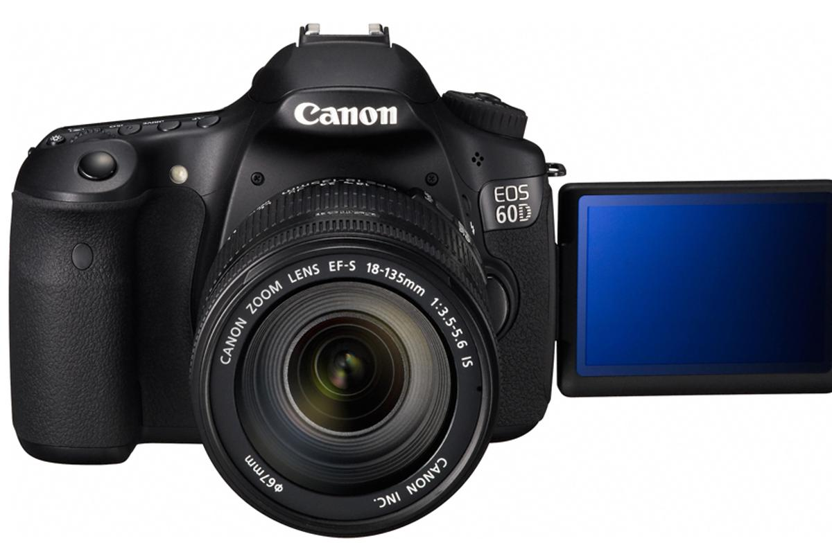 The Canon EOS 60D