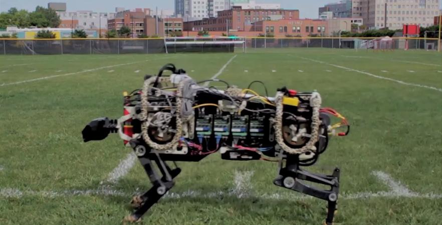 Researchers at MIT have created an untethered, electrically powered robotic cheetah