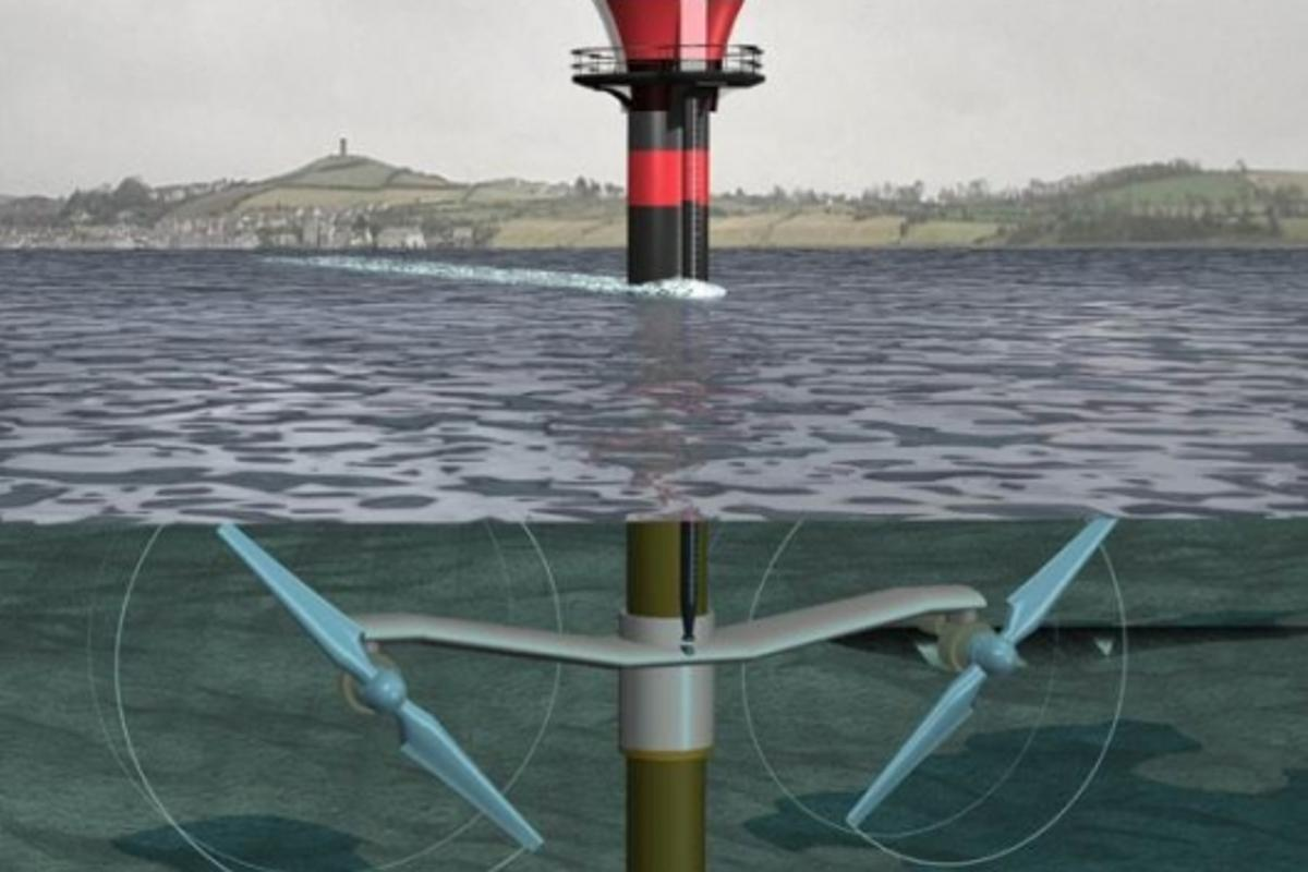 Tidal Turbines create energy efficiently and with almost no environmental impact.