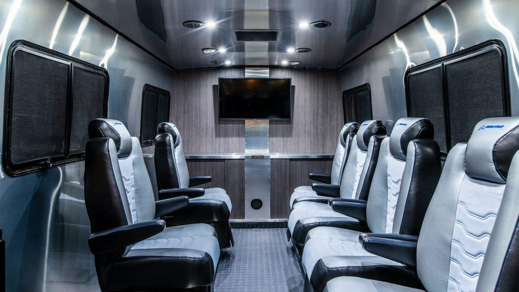 The Astrovan II interior