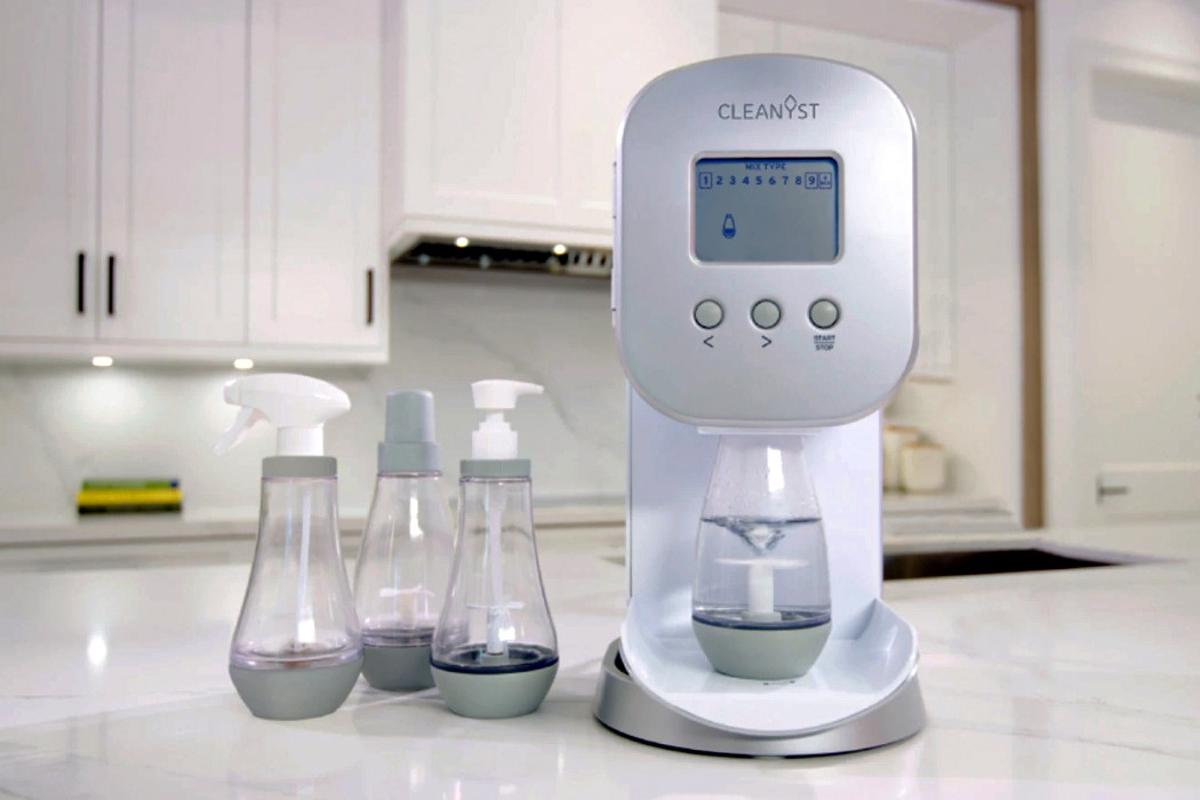 The Cleanyst household appliance allows you to make your own DIY soaps
