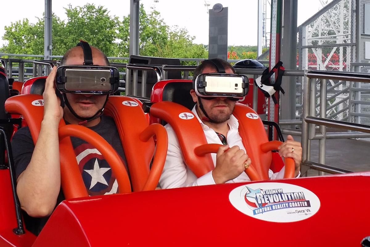 Ready to ride with Tom Harding, Samsung director of immersive products and virtual reality
